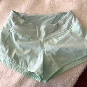 Lululemon speed shorts - size2